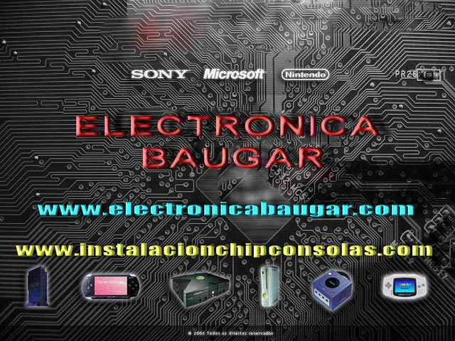 CHIP WII PSP PS2 PS3 DS FLASHEO LECTORES XBOX 360 MADRID TIENDA