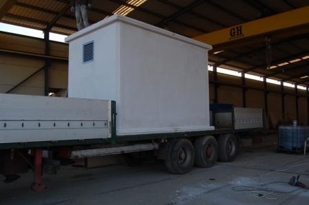 Fabricación y venta de casetas de hormigón y módulos prefabricad
