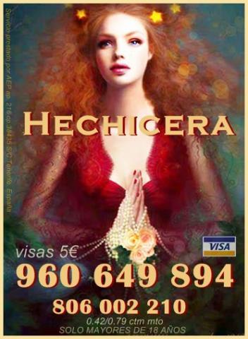 Hechicera española 960 649 894 tarot y hechizos.
