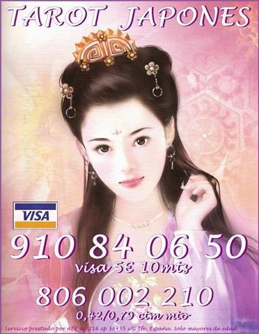 cTarot barato visa japonés 910 84 06 50 muy barato