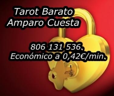 Tarot Barato de Amparo Cuesta. 806 131 536. Económico a 0,42 min
