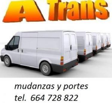 furgonetas de 11m3 a su dispozicion