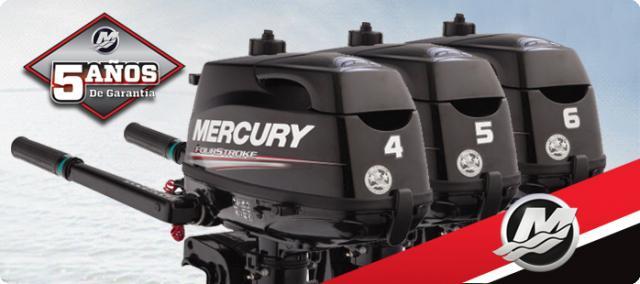 MOTOR FUERABORDA MERCURY - F4M 4 TIEMPOS 2018