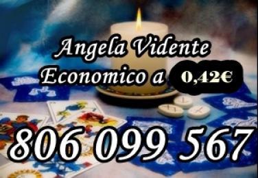 Angela Muñoz Videntes. 806 099 567. Tarot barato y videncia a 0,4