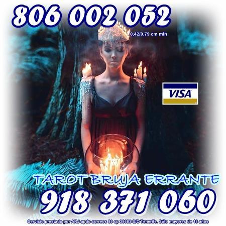 Oferta Tarot y Videncia por visa 8 20 min. Tarot 806 sólo 0,42