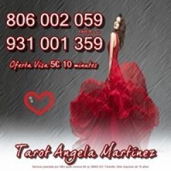Oferta Tarot Visa Ángela Martínez 5 10 min. Tarot 806 barato só