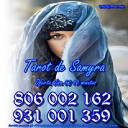 Videncia y Tarot Samyra Barato sólo 0,42 cm min. Visa 5 10 min.