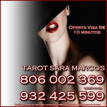 Tarot Sara Marcos Visa 10 30 min. Tarot 806 barato y económico