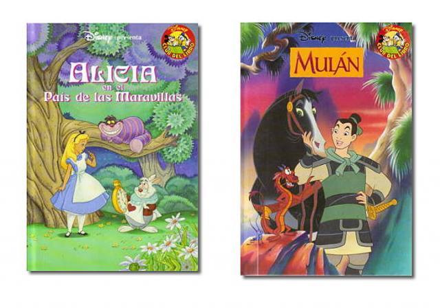 Cuentos Disney (Salvat). Lote 2 ejemplares