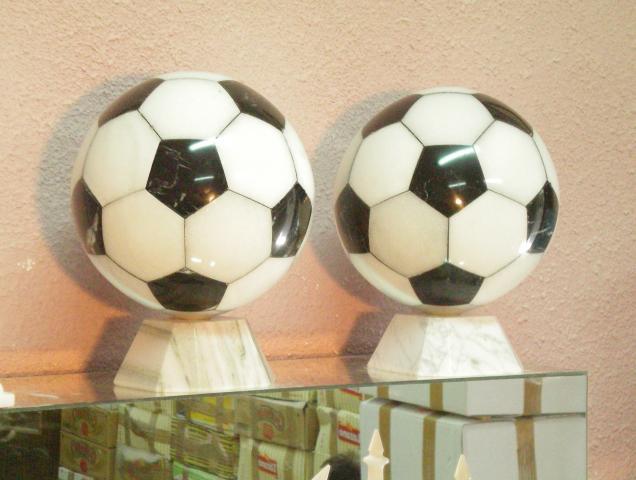 Balon de Futbol en mármol