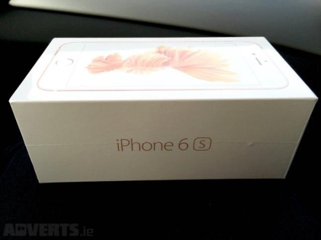 Apple iphone 6S-64gb-oro - desbloqueado-caja sellada