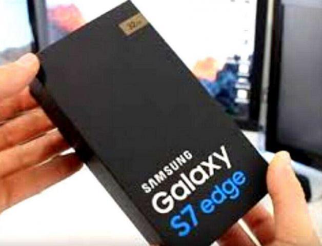 NUEVO Samsung Galaxy S7 edge 64GB Blanco y Oro (Desbloqueado)