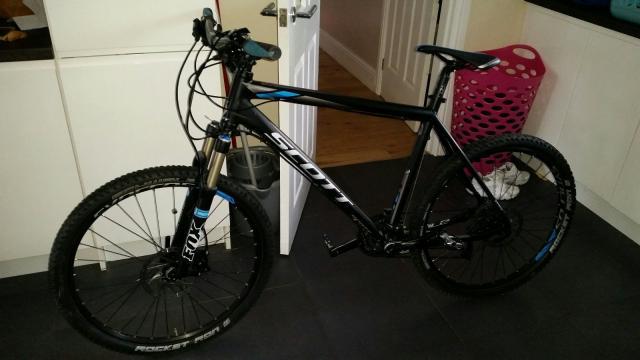 Scott scale 640 bici montaña