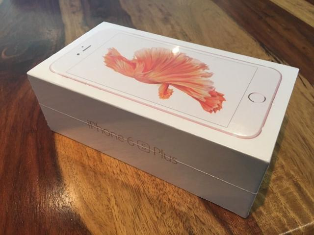 Nuevo Apple iphone 6 S Plus 128GB Plata y Blanco, desbloqueado