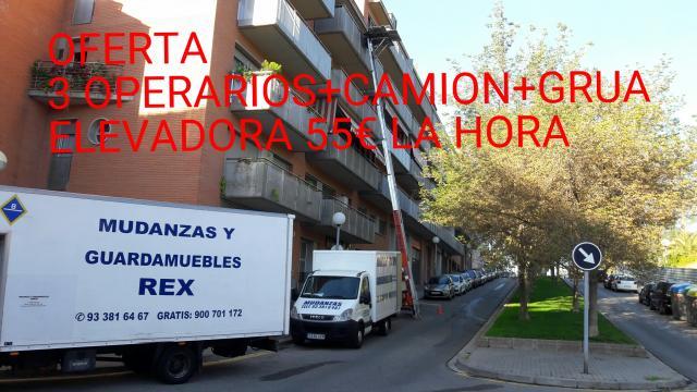 Mudanzas Cerdayola del Valles 900701172 Grua Elevador 933816467