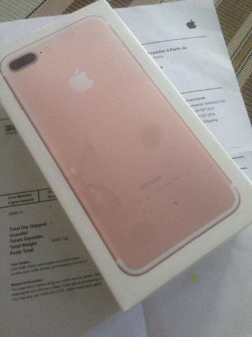 iPhone 7 Plus Rosa de Oro 128GB