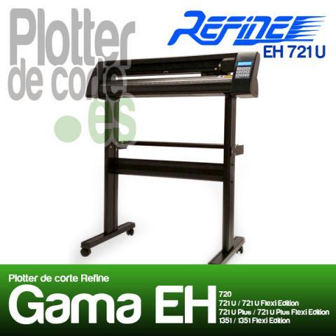 Plotter de corte Refine EH721U. Ideal para rotulistas