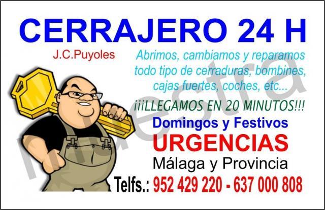 Cerrajero malaga 637000808