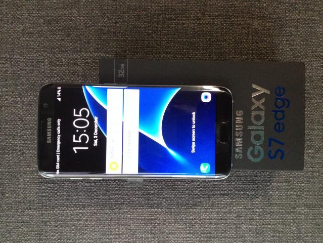 NUEVO Samsung Galaxy S7 EDGE Dual Sim 4G 32GB (Libre) - Negro