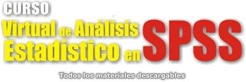 SPSS: POSGRADOS, MASTER, DOCENCIA ON LINE YPRESENCIAL