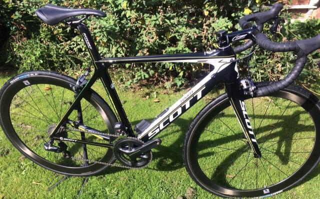 Scott Foil bicicleta de carretera de carbono Di2