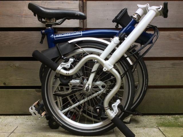 BROMPTON H-TYPE H6L seis velocidades bicicleta plegable