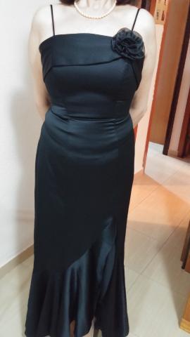 vendo vestido fiesta negro