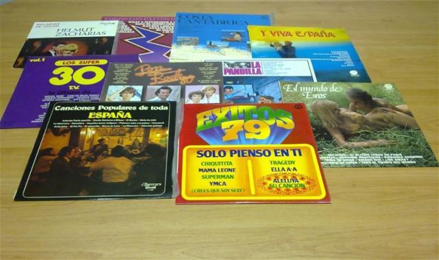 VENDO LPs DE MUSICA POP DE LOS AÑOS 60 Y 80