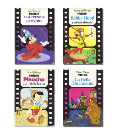 Lote 4 libros de cuentos Disney (Club Internacional del Libro)