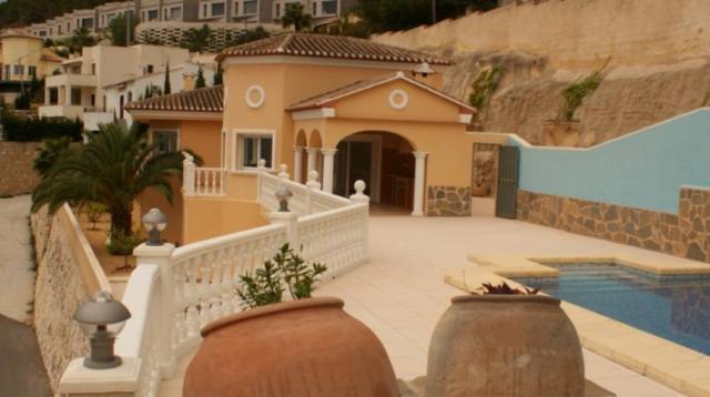 Villa de lujo con fantásticas vistas al mar