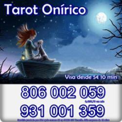 Tarot Barato y económico Onírico 0,42 cm. Visa 15 30 min.