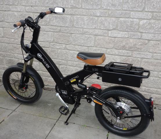 Bicicleta eléctrica suspensión completa