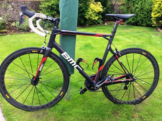 bicicleta de carretera BMC SLR01 Dura Ace Di2