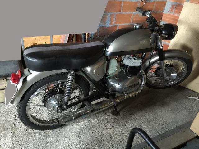 BULTACO metralla 62, 250cc del 1967