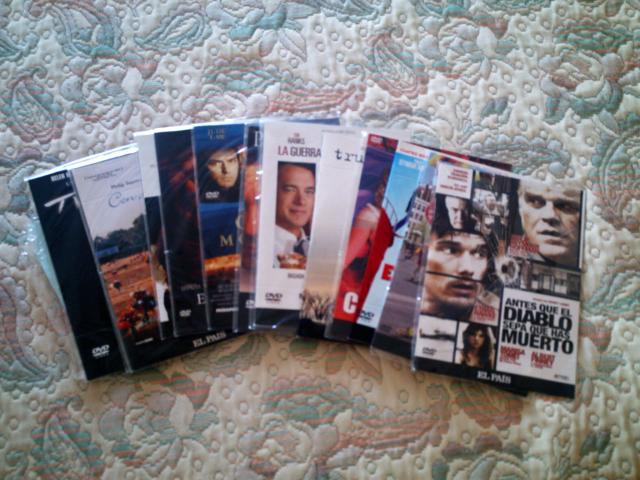 VENDO LOTE 14 PELICULAS DVD PHILLIP SEYMOUR HOFFMAN EL PAIS