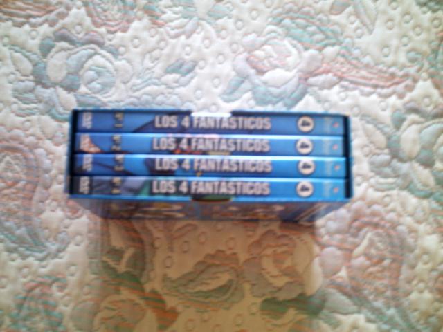 VENDO LOTE PELICULAS DVD 4 FANTASTICOS DIBUJOS ANIMADOS