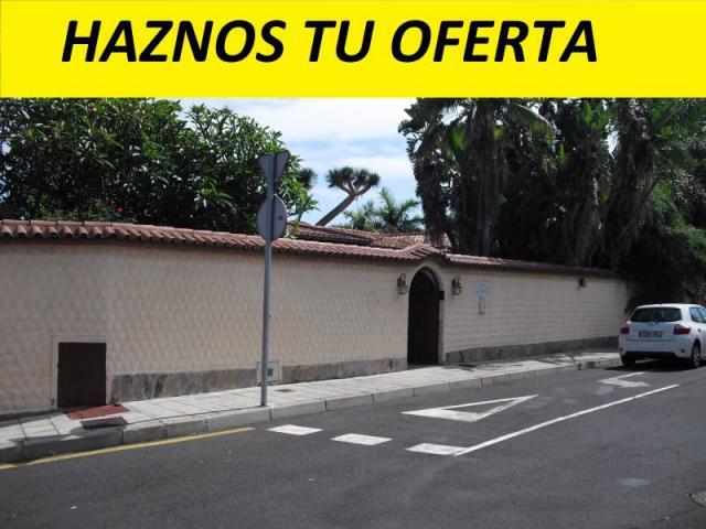 Chalet independiente en La Orotava, procedente de BANCO, con FINANCIACIÓN PREFER
