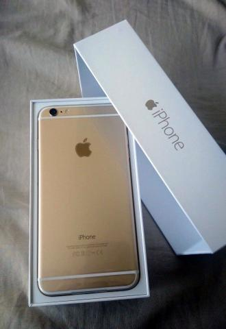 A ESTRENAR de Apple iPhone 32GB 6S Plus oro blanco