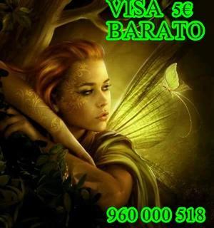 Tarot Visa 5 barato y certero MICAELA 960 000 518