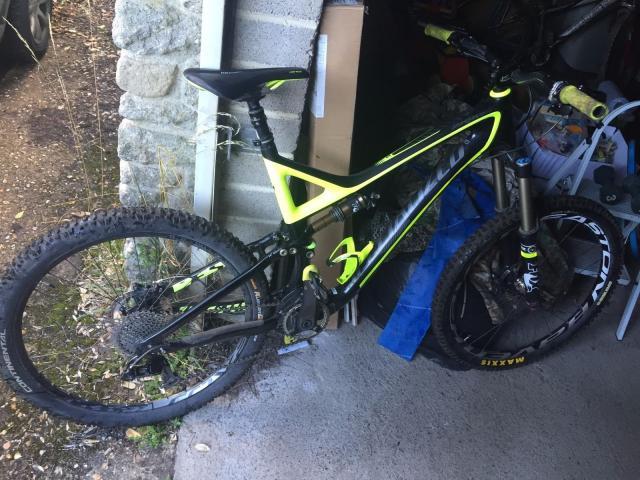 Bicicleta Specialized EVO Carbon XL