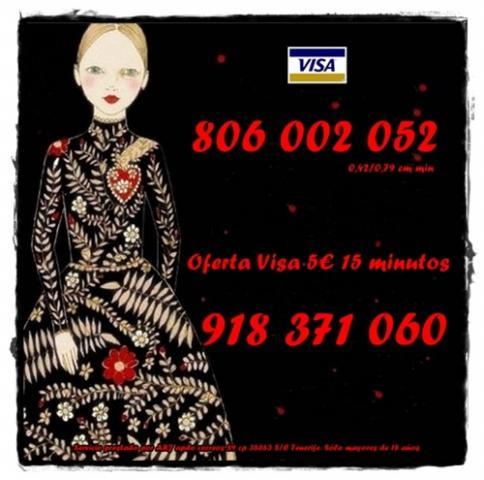 Tarot oferta 8 20 min por visa. Tarot barato 806 sólo 0,42 cm m