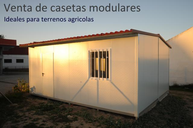 Casetas prefabricadas low cost para el campo
