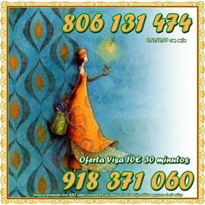 Tarot y Videncia en una sola consulta por 0,42 cm. Oferta Visa 5