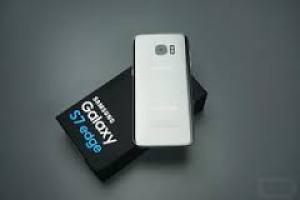 NUEVO Samsung Galaxy S7edge 16GB Plata , METRO PCS EN CAJA GRIS