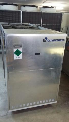 Enfriadora de agua marca Climaveneta 83,5 kw bomba calor