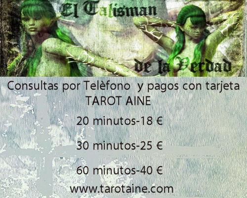 Tarot Aine-Clarividencia