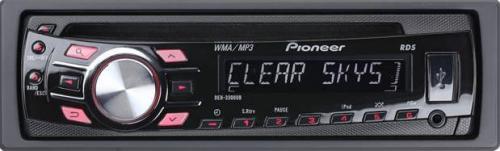 Radio CD Mp3 con Usb de PIONEER, modelo DEH-3300UB para coche.