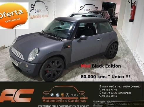 Mini One BLACK EDITON NEGRO MATE LLANTAS 17 Cooper S-USB-Bluetooth
