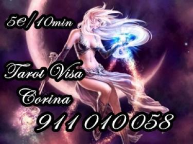 Tarot Visa barata Corina desde 5 10min 911 010 058.