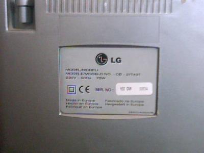 TV - LG, de 32 pulgadas